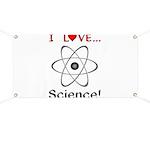 I Love Science Banner