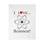 I Love Science Twin Duvet