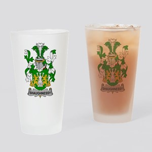 Shaughnessy Family Crest Drinking Glass