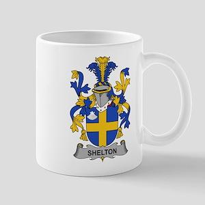 Shelton Family Crest Mugs