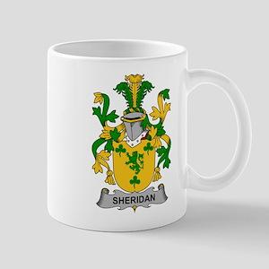 Sheridan Family Crest Mugs
