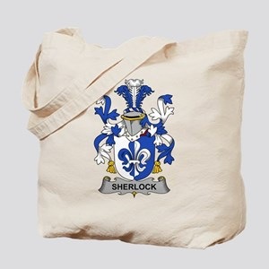 Sherlock Family Crest Tote Bag