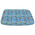 Toy Car Track Bathmat
