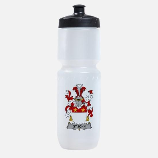 St. John Family Crest Sports Bottle