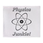 Physics Junkie Throw Blanket