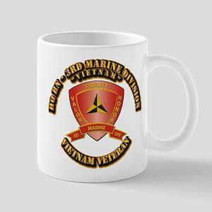 USMC - HQ Bn - 3rd Marine Division VN Mug