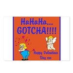 Gotcha Postcards (Package of 8)