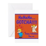 Gotcha Greeting Cards