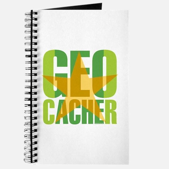 Star Geocacher Green Journal