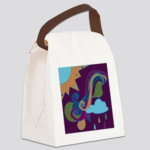 BirdSong Canvas Lunch Bag