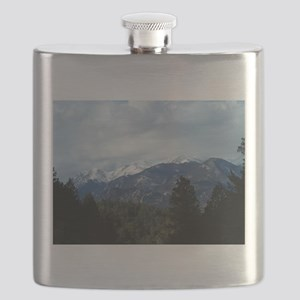 The Rockies Flask