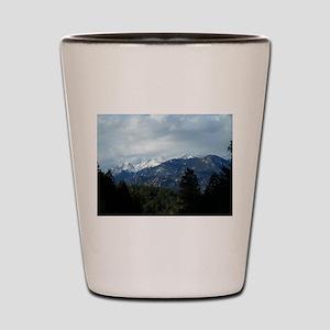 The Rockies Shot Glass