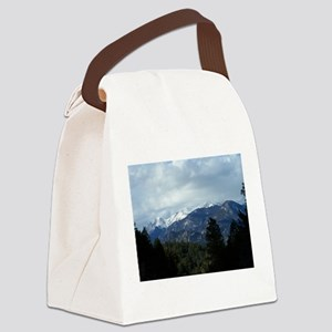 The Rockies Canvas Lunch Bag