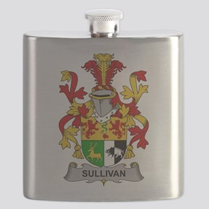 Sullivan Family Crest Flask