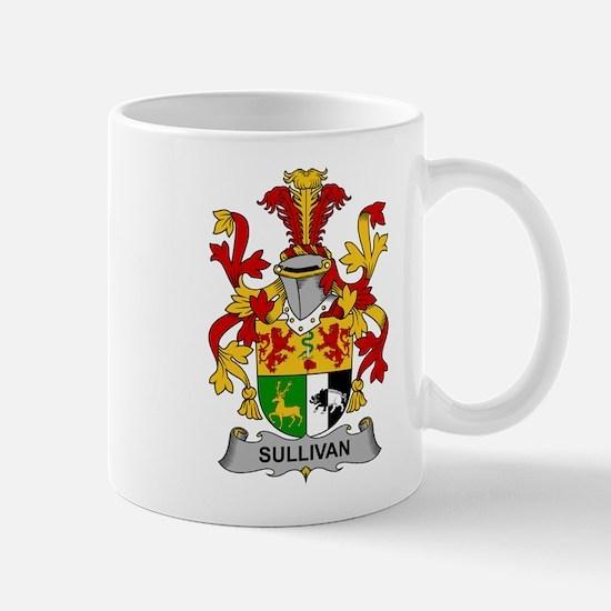 Sullivan Family Crest Mugs