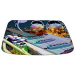 Music Instruments Bathmat