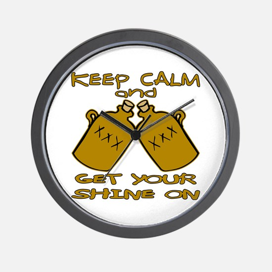 And Get Your Shine On Wall Clock
