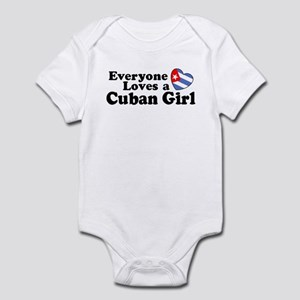 Everyone Loves a Cuban Girl Infant Bodysuit