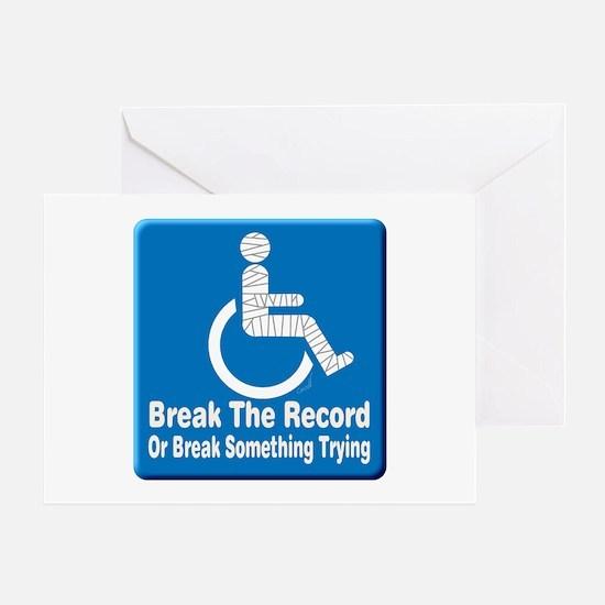 Break Something Greeting Card