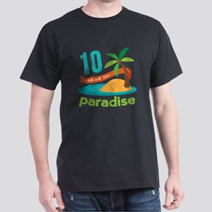 10th Anniversary Paradise Dark T-Shirt