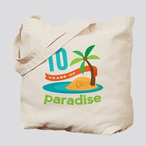 10th Anniversary Paradise Tote Bag