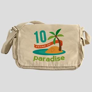 10th Anniversary Paradise Messenger Bag