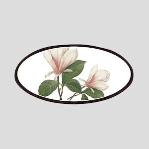 Vintage botanical art, elegant magnolia flower. Pa