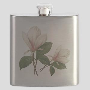 Vintage botanical art, elegant magnolia flower. Fl