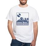 Lunar Accounting Division White T-Shirt