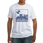 Lunar Accounting Division Fitted T-Shirt