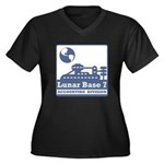 Lunar Accounting Division Women's Plus Size V-Neck