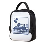 Lunar Accounting Division Neoprene Lunch Bag