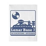 Lunar Accounting Division Twin Duvet
