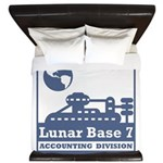Lunar Accounting Division King Duvet