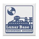Lunar Accounting Division Tile Coaster