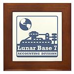 Lunar Accounting Division Framed Tile