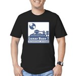 Lunar Accounting Division Men's Fitted T-Shirt (da