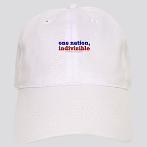 One Nation Indivisible lightapparel Baseball Cap