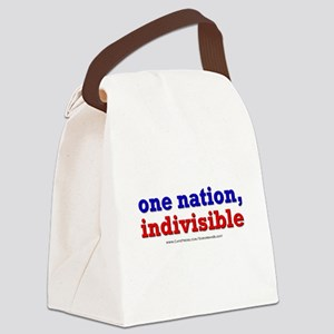 One Nation Indivisible lightapparel Canvas Lunch B