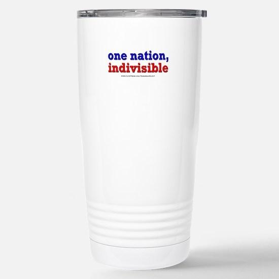 One Nation Indivisible lightapparel Travel Mug