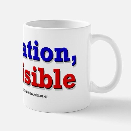 One Nation Indivisible bevmug Mugs
