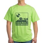 Lunar Auditing Division Green T-Shirt
