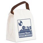 Lunar Auditing Division Canvas Lunch Bag