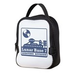 Lunar Auditing Division Neoprene Lunch Bag