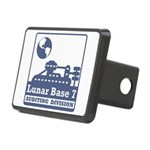 Lunar Auditing Division Rectangular Hitch Cover