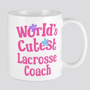 Worlds Cutest Lacrosse Coach Mug