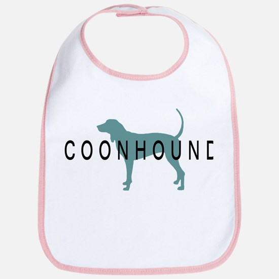 Coonhound Dogs Bib
