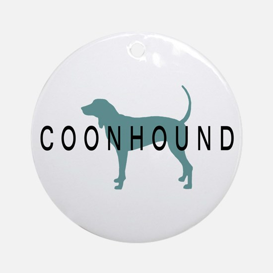 Coonhound Dogs Ornament (Round)