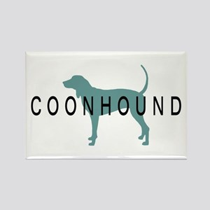 Coonhound Dogs Rectangle Magnet