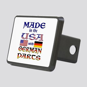 Made USA With German Parts Rectangular Hitch Cover